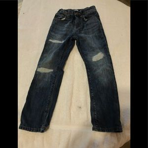 Little boys distressed jean